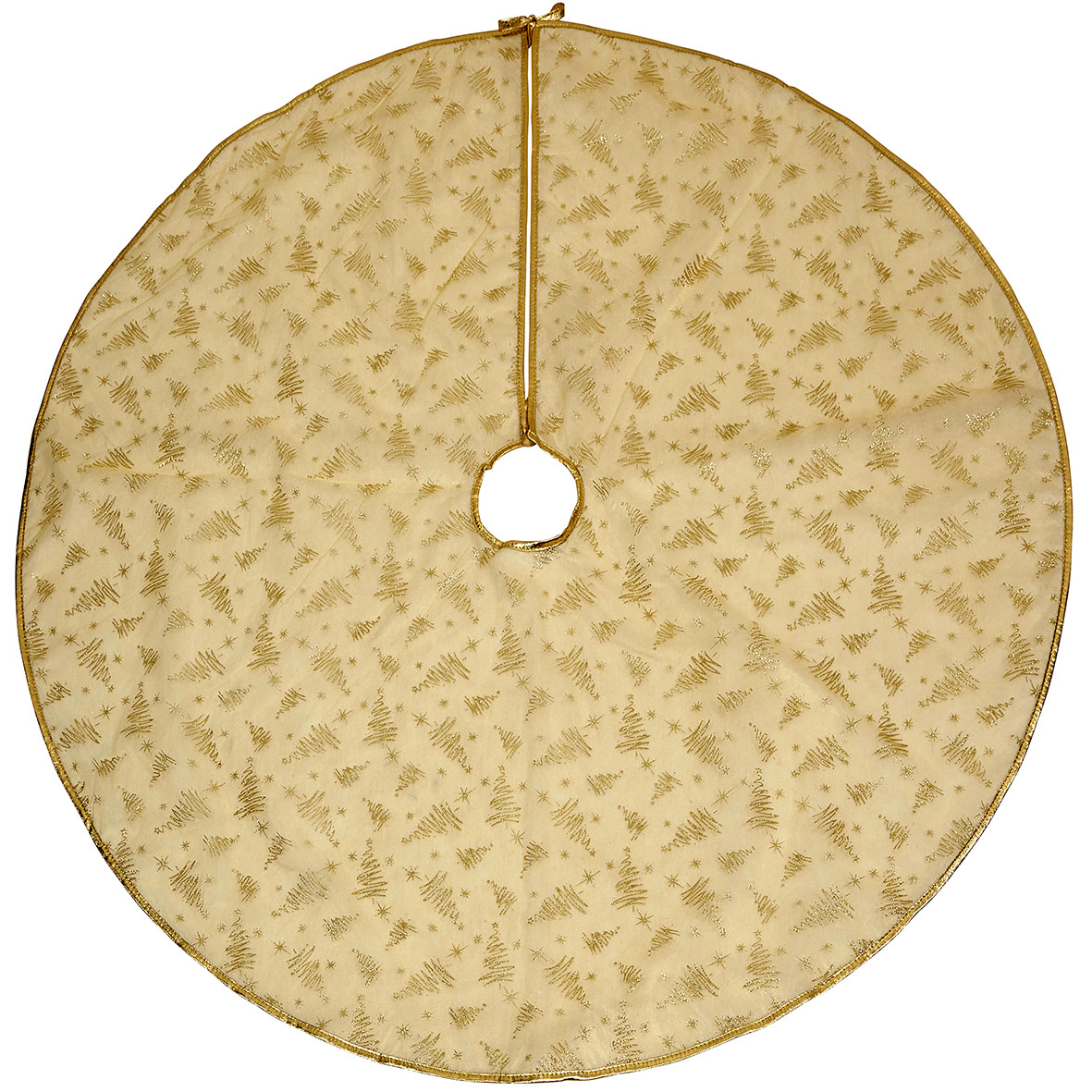 Gold Tree Skirt