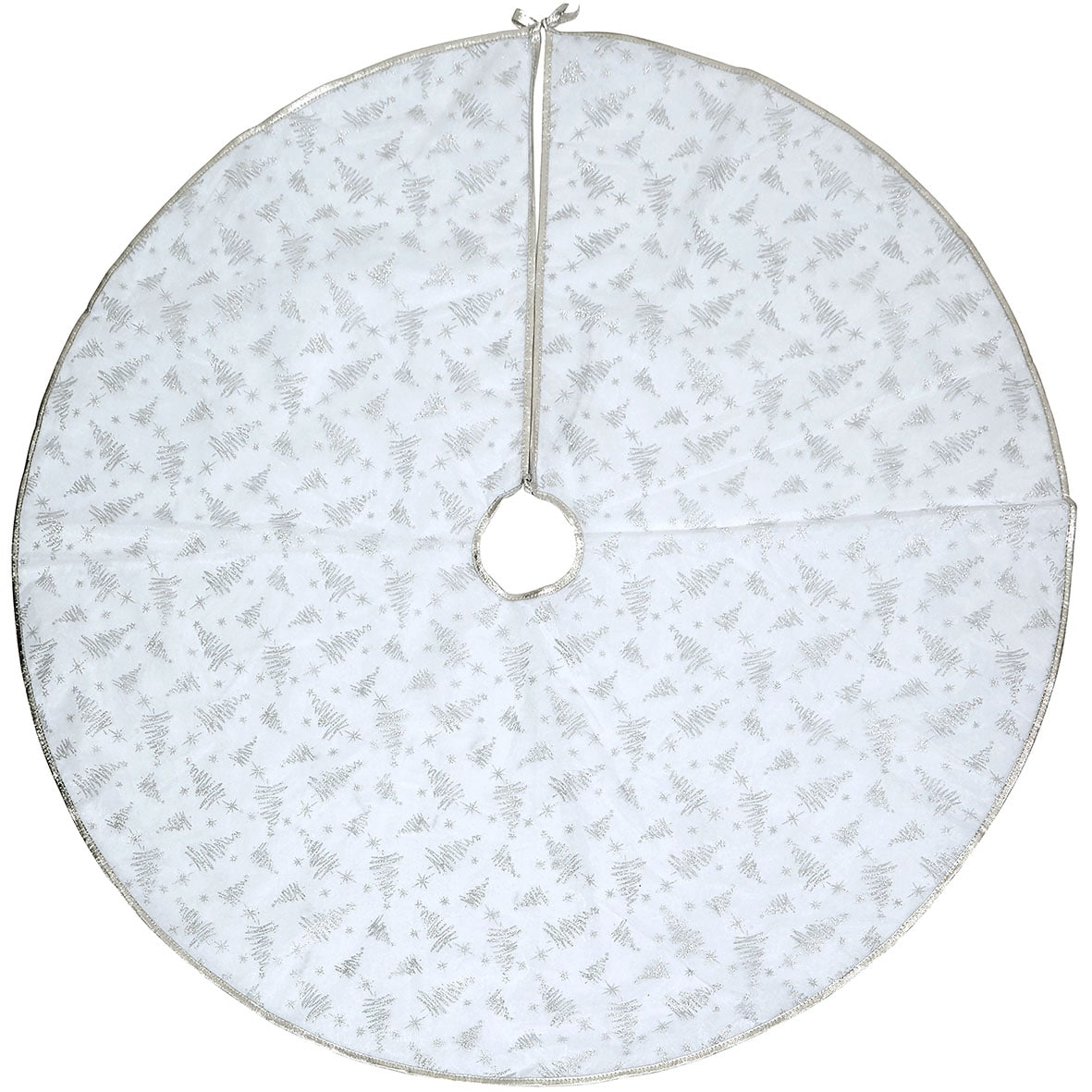 Silver Tree Skirt